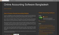 Screenshot of Online Accounting Software Bangladesh