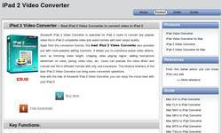 Screenshot of http://www.macipadvideoconverter.com/ipad-2-video-converter/