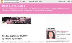 Screenshot of Donna Lynn's Blog