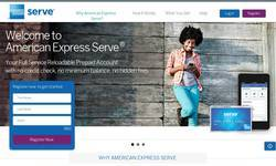 Screenshot of American Express Serve