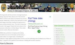 Screenshot of how to become Police Officer