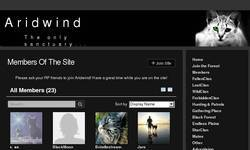 Screenshot of .:Aridwind:.