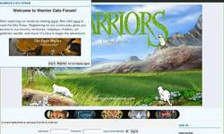 Screenshot of Warrior Cats Forum