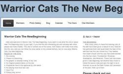 Screenshot of Warrior cats A New Begining