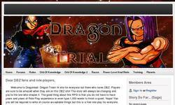 Screenshot of Dragonball Dragon Trials