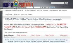 Screenshot of webpage