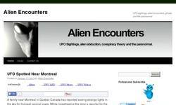Screenshot of Alien Encounter
