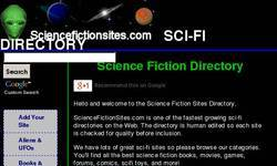 Screenshot of Sci Fi Directory