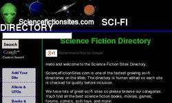 Screenshot of Sci Fi Directory