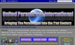 Screenshot of United Paranormal International
