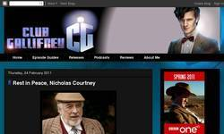 Screenshot of Club Gallifrey Blog