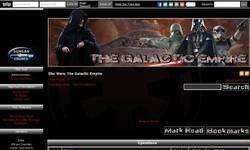 Screenshot of The Galactic Empire