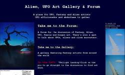 Screenshot of Alien Art Gallery