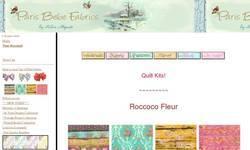 Screenshot of Paris Bebe