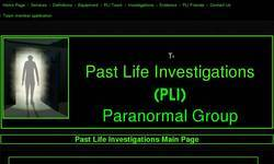 Screenshot of Past Life Investigations