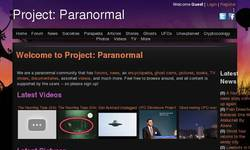 Screenshot of Project: Paranormal