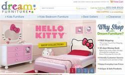 Screenshot of Dream Furniture - Hello Kitty Furniture and more.