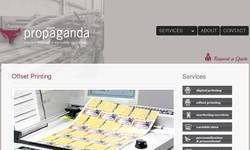 Screenshot of offset printing