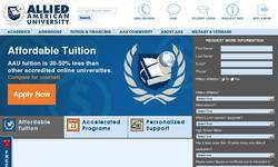 Screenshot of Accredited Online College Course