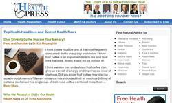 Screenshot of DoctorsHealthPress
