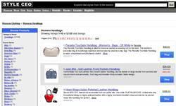 Screenshot of Womens Handbags