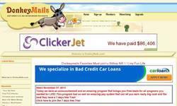 Screenshot of Donkey Mails