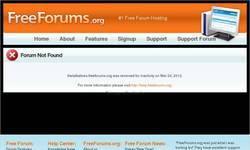 Screenshot of The Official OceanClan forum