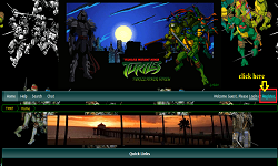 Screenshot of TMNT forum