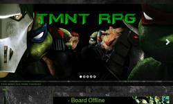 Screenshot of TMNT RPG