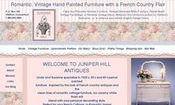 Screenshot of Juniper Hill Antiques