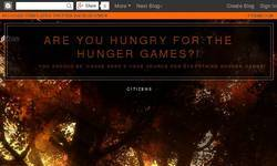 Screenshot of Are You Hungry For The Hunger Games?!