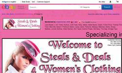 Screenshot of Steals&deals4WomensClothing