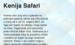 Screenshot of Kenija Safari