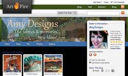 Screenshot of Amy Designs