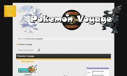 Screenshot of Pokemon Voyage