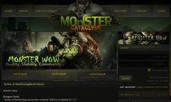 Screenshot of Monster Cataclysm Server 4.2.2a