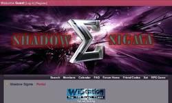 Screenshot of Shadow Sigma