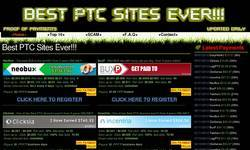 Screenshot of BEST PTC SITES EVER!!!