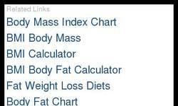 Screenshot of www.bodymass.org