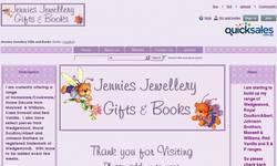 Screenshot of Jennies Jewellery, Gifts & Books