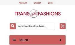 Screenshot of Transfashions