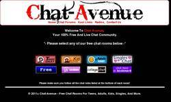 Screenshot of Free Chat Rooms
