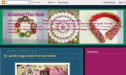 Screenshot of Crochet Fun Hub