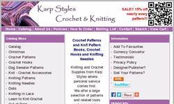 Screenshot of Crochet-Knit DOT com