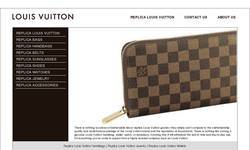 Screenshot of louis vuitton outlet