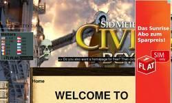 Screenshot of civ4 Players page STYX