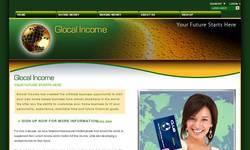 Screenshot of Glocale Income