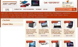 Screenshot of justlaptop.com.au