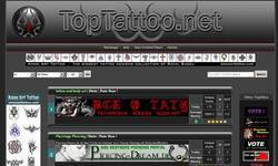 Screenshot of TopTattoo.net