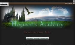 Screenshot of Hogwarts Academy - Online Harry Potter School
